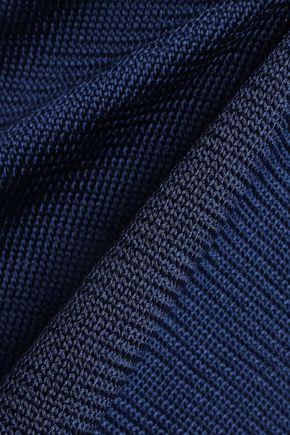 TIBI Cutout stretch-knit sweater