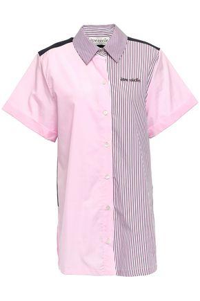 ÊTRE CÉCILE Printed cotton-poplin shirt