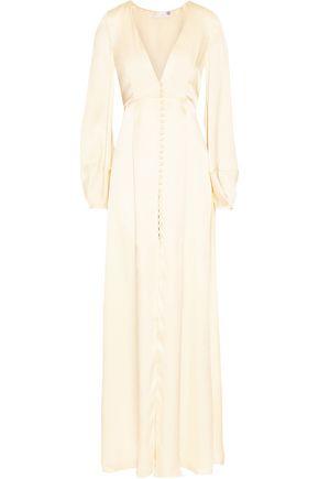 TEMPERLEY LONDON Julianna silk-satin gown