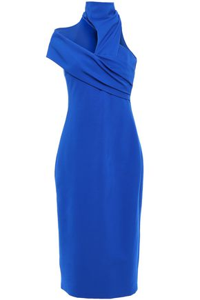 CUSHNIE Cutout ponte dress