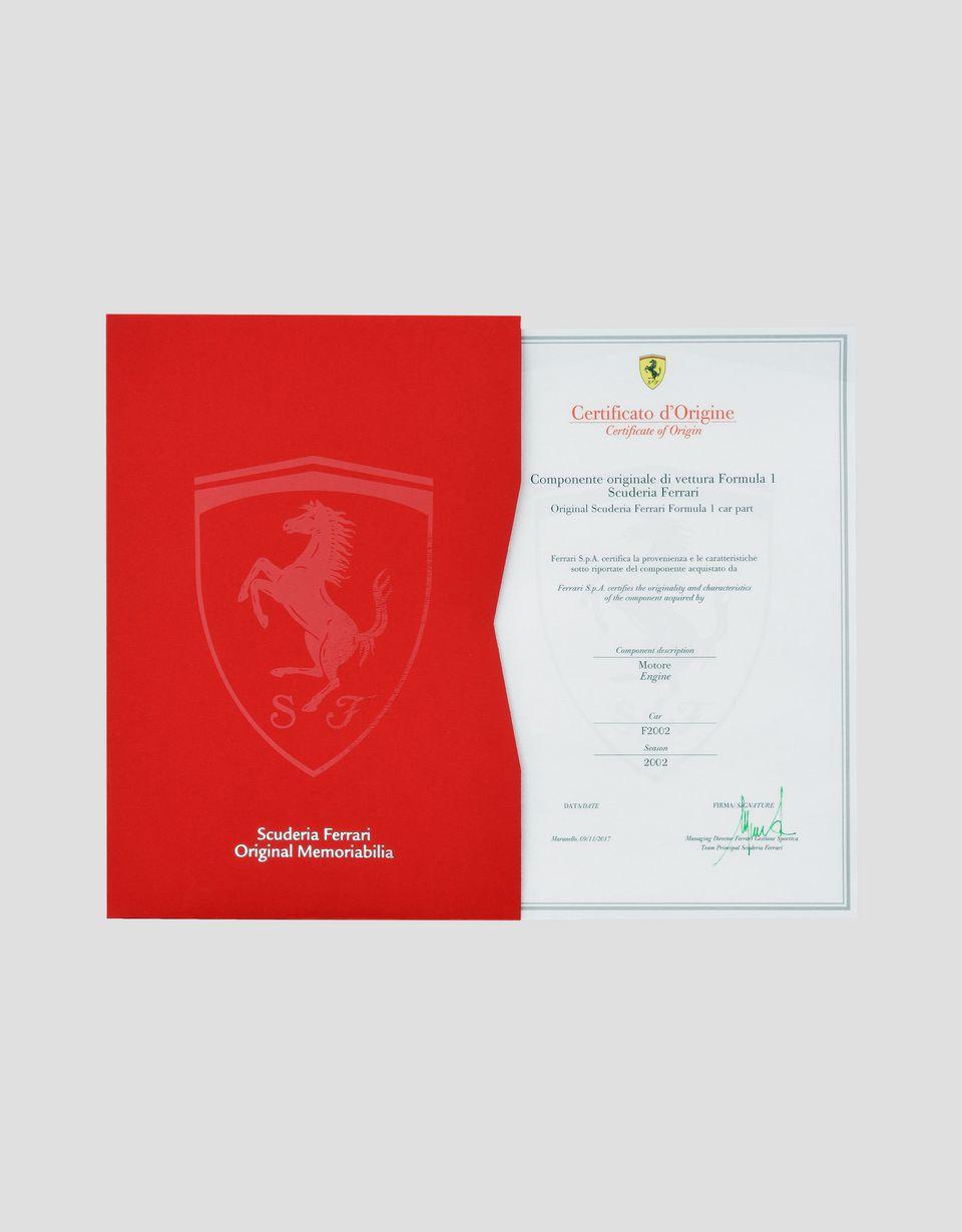 Scuderia Ferrari Online Store - F2002 original engine - Memorabilia F1