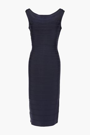 HERVÉ LÉGER Ardell open-back bandage dress