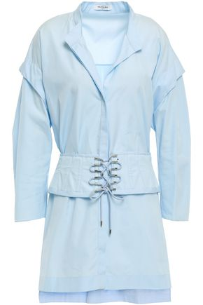 MUGLER Cotton-poplin shirt