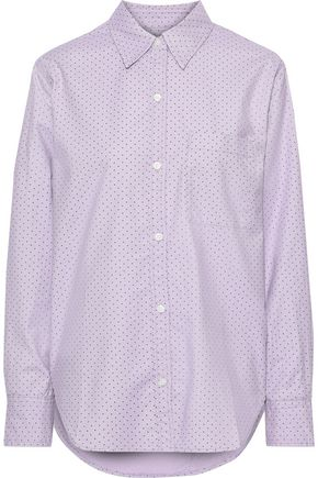 CURRENT/ELLIOTT The Neal stretch cotton-poplin shirt