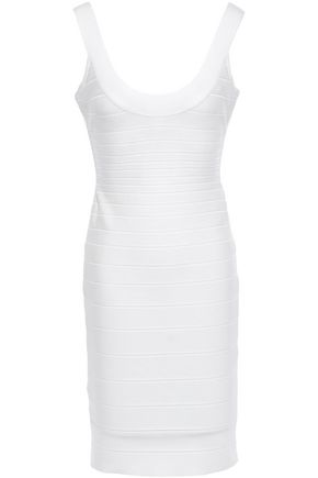 HERVÉ LÉGER Open-back bandage dress