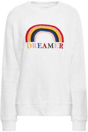 CHINTI & PARKER Embroidered cotton sweatshirt