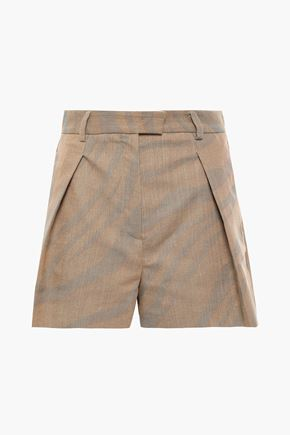 ROBERTO CAVALLI Cotton-blend jacquard shorts