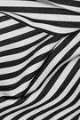 TOME Bow-detailed striped cotton-poplin shirt dress