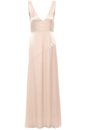 LES HÉROÏNES by VANESSA COCCHIARO The Wangari satin maxi dress