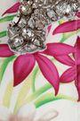 DODO BAR OR Asymmetric crystal-embellished crepe dress