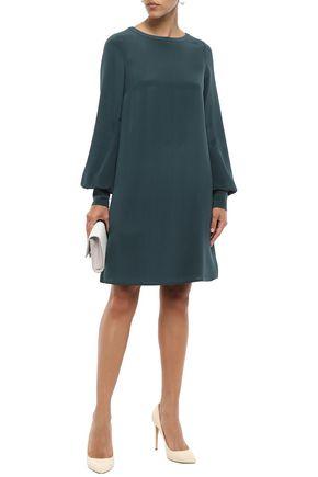 GOAT Silk crepe de chine mini dress