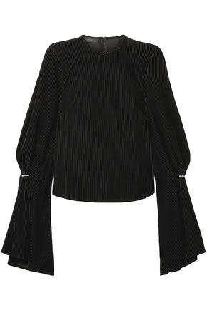 SID NEIGUM Fluted corduroy top