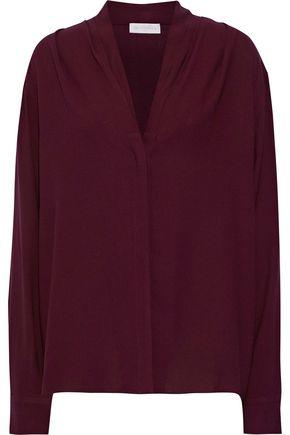 LES HÉROÏNES by VANESSA COCCHIARO The Toni washed-crepe shirt
