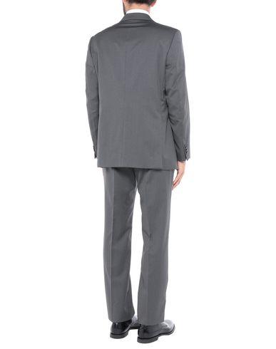 Фото 2 - Мужской костюм SARTORE свинцово-серого цвета