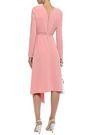 TIBI Asymmetric crepe midi dress