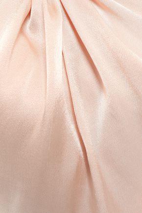 LES HÉROÏNES by VANESSA COCCHIARO Cropped crepe top