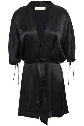 LES HÉROÏNES by VANESSA COCCHIARO Bow-detailed crepe blouse