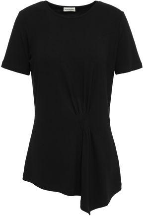 BY MALENE BIRGER Asymmetric stretch-knit T-shirt