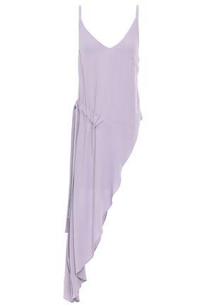 LES HÉROÏNES by VANESSA COCCHIARO Asymmetric draped crepe top