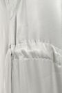 LES HÉROÏNES by VANESSA COCCHIARO The Sappho asymmetric satin-crepe top
