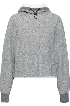 RAG & BONE Sweat French cotton-terry hoodie