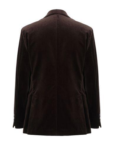 Фото 2 - Мужской пиджак GABRIELE PASINI темно-коричневого цвета