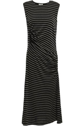 BY MALENE BIRGER Ruched jersey midi dress