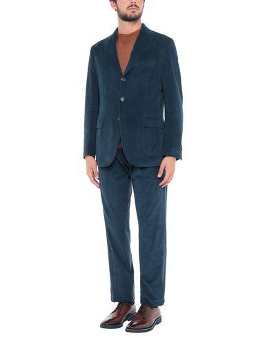 Фото - Мужской костюм  грифельно-синего цвета