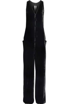 RICK OWENS Velvet jumpsuit