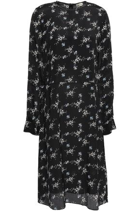 BY MALENE BIRGER Floral-print crepe de chine dress