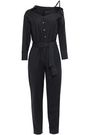 MAJE Belted woven jumpsuit