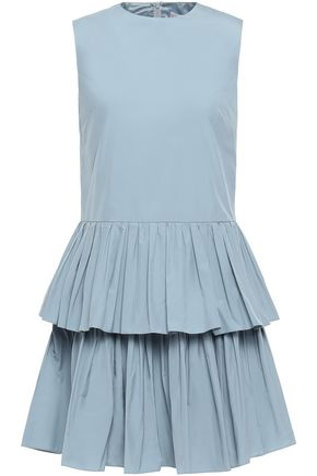 REDValentino Tiered taffeta mini dress