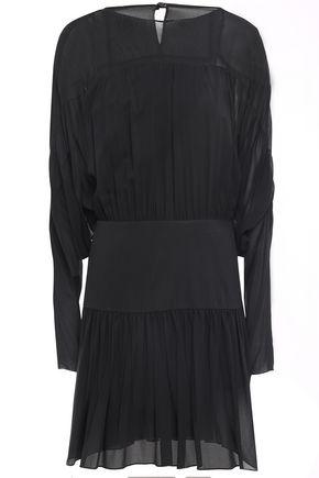 REDValentino Silk-georgette and crepe de chine mini dress