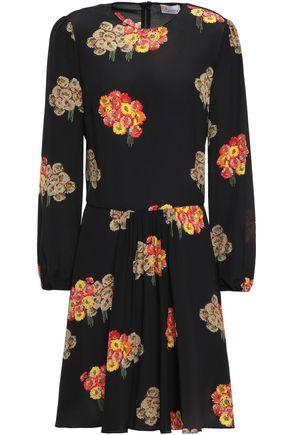 REDValentino Silk crepe de chine mini dress