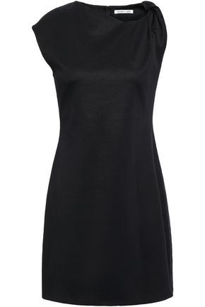 HELMUT LANG Asymmetric twisted cady mini dress