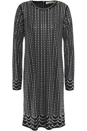 MICHAEL MICHAEL KORS Embellished jersey mini dress
