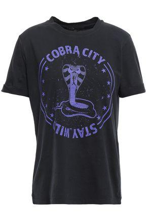 MAJE Cotton-jersey T-shirt