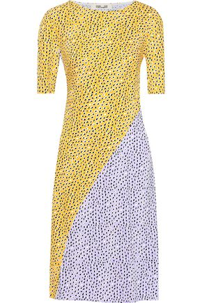 DIANE VON FURSTENBERG Arlow printed silk-crepe dress