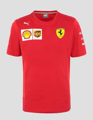 Scuderia Ferrari Online Store - Футболка Vettel Scuderia Ferrari Replica - Футболки с короткими рукавами