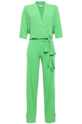 BY MALENE BIRGER Wrap-effect crepe jumpsuit