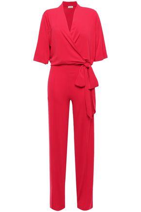 BY MALENE BIRGER Wrap-effect crepe jumpsuit