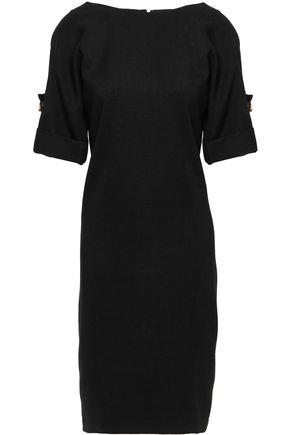 BADGLEY MISCHKA Button-detailed denim dress