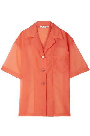 ACNE STUDIOS Relovo oversized organza shirt