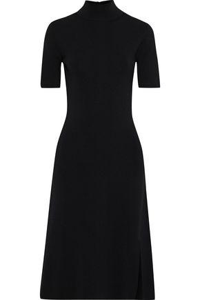 IRIS & INK Greta ribbed-knit turtleneck dress