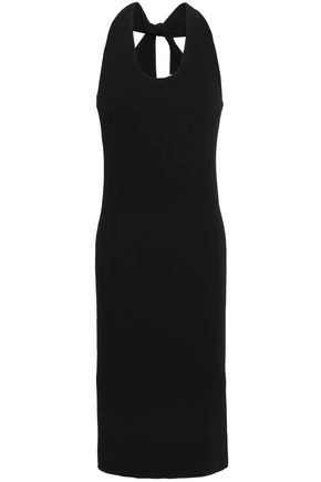 HELMUT LANG Twist-back jersey dress