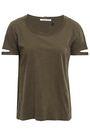 HELMUT LANG Cutout jersey T-shirt