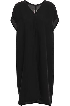 RICK OWENS Draped crepe dress