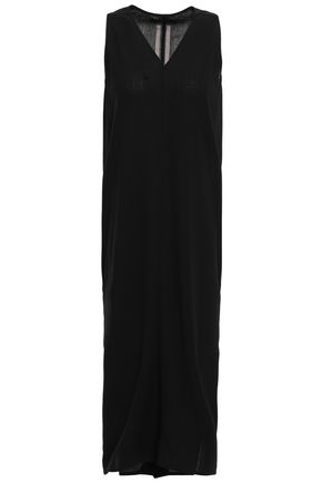 RICK OWENS Wool midi dress