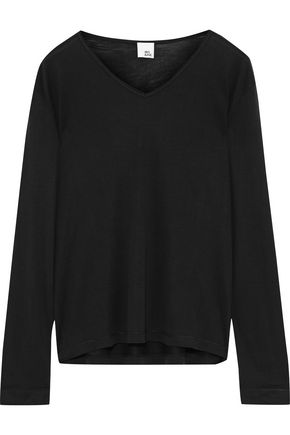IRIS & INK Kemma silk-jersey top