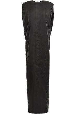 RICK OWENS Padded shell maxi dress